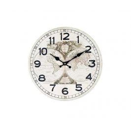 Nástěnné hodiny Mappemonde White