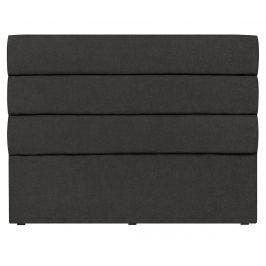 Čelo postele Pesaro Black 120x180 cm