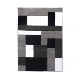 Koberec Cosmos Black Grey 80x150 cm