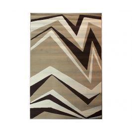 Koberec Shard Beige Brown 60x110 cm