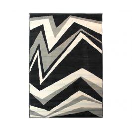 Koberec Shard Black Grey 160x230 cm