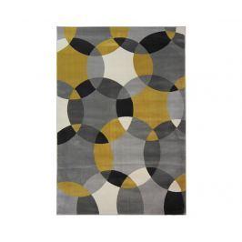 Koberec Cosmo Grey Ochre 80x150 cm