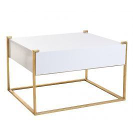 Konferenční stolek Malory White Golden