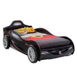 Rám postele pro děti Coupe Car Black