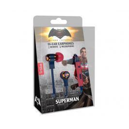 Sluchátka s mikrofonem Superman