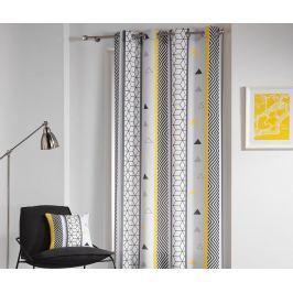 Závěs Yellow Mix 140x260 cm