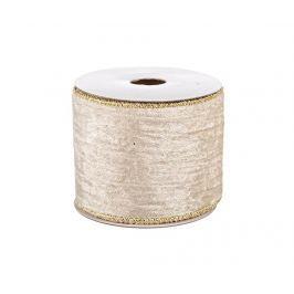 Dekorační stuha Ribbon Ivory Gold