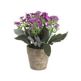 Umělá květina v květináči Joy Purple