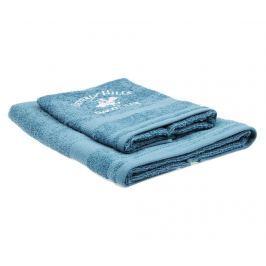 Sada 2 ručníků Tommy Petrol Blue