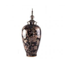 Dekorační nádoba s víkem Jules Tall
