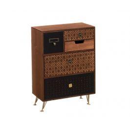 Krabice s 5 zásuvkami Terence Dekorační krabice & špěrkovnice