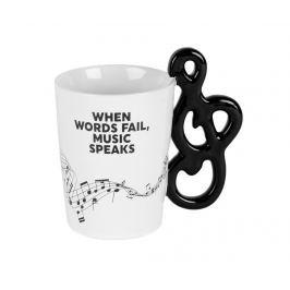 Hrnek Music Speaks 350 ml Servírování čaje & kávy