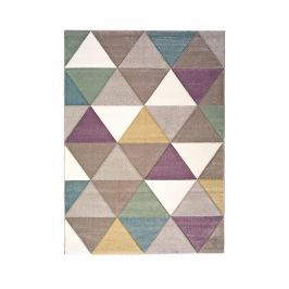 Koberec Makeup Triangles 80x150 cm Moderní