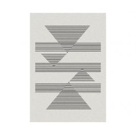 Koberec Norway Triangles White 160x230 cm