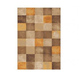 Koberec Amber Squares Beige 57x110 cm Moderní