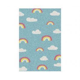 Koberec Cuore Rainbows Blue 100x150 cm