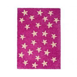 Koberec Cuore Stars Pink 100x150 cm