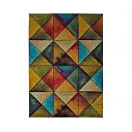 Koberec Optik Multicolor 140x200 cm Moderní