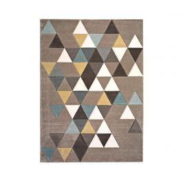 Koberec Pinky Triangles 160x230 cm Moderní