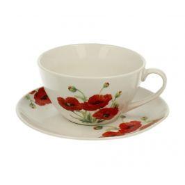 Sada šálek s podšálkem Poppy Servírování čaje & kávy