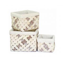 Sada 3 košů Fionn Úložné krabice & koše