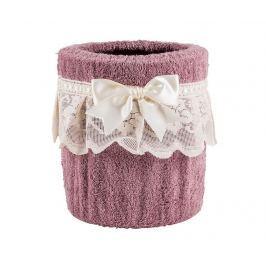Koš Burrato Dusty Pink Úložné krabice & koše
