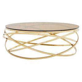 Konferenční stolek Allure  Smoked Gold