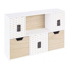 Krabice s 5 zásuvkami Megghy Úložné krabice & koše
