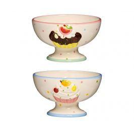 Sada 2 pohárů na dezert Cupcake Nádobí
