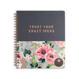 Diář Trust Your Crazy Ideas Kancelářské potřeby & doplňky