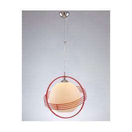Závěsná lampa Tamsin Red