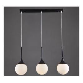 Závěsná lampa Kathy Black Three Závěsné lampy