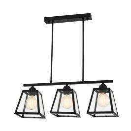 Závěsná lampa Kameron Black Závěsné lampy