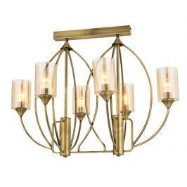 Lustr Aliza Antique Double Six Závěsné lampy