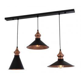 Závěsná lampa Chana Black