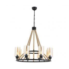 Závěsná lampa Barron Black Závěsné lampy