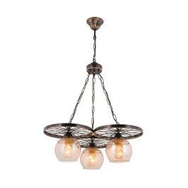 Závěsná lampa Antwan Antique Three