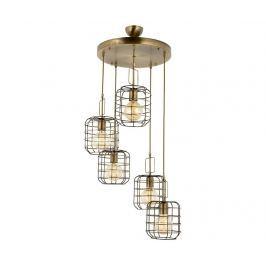 Závěsná lampa Barker Antique Round Five