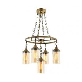 Závěsná lampa Jonathon Antique Five