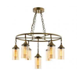 Závěsná lampa Jonathon Antique Seven Závěsné lampy