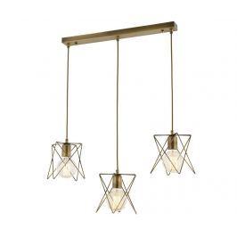 Závěsná lampa Teagan Antique Wide Three Závěsné lampy