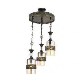 Závěsná lampa Sarahi Antique Three Závěsné lampy