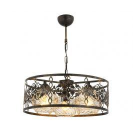 Závěsná lampa Zion Antique Round Three