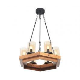 Závěsná lampa Edgard Round Six