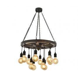 Závěsná lampa Quinn Black
