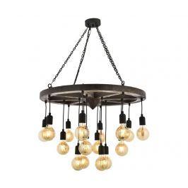 Závěsná lampa Quinn Black Supreme Závěsné lampy