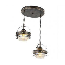Závěsná lampa Riya Antique Two