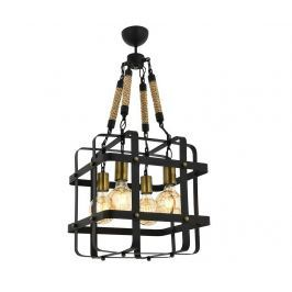 Závěsná lampa Irene Black Four