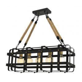Závěsná lampa Irene Black Five Závěsné lampy