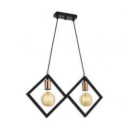 Závěsná lampa Bailey Black Two